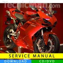 Ducati 1098 service manual (2007-2008) (IT)