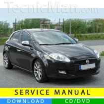 Fiat Bravo service manual (2007-2014) (Multilang)