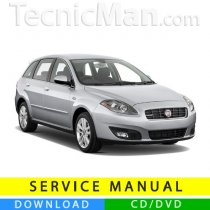 Fiat Croma service manual (2005-2011) (Multilang)