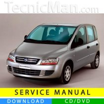Fiat Multipla II service manual (2004-2010) (MultiLang)