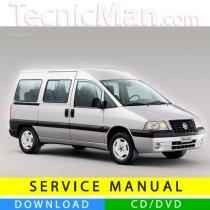 Fiat Scudo service manual (1996-2007) (EN)