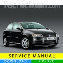 Fiat Stilo service manual (2001-2010) (Multilang)