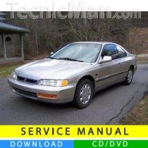 Honda Accord service manual (1993-1997) (EN)
