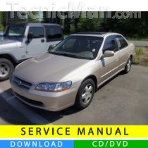 Honda Accord service manual (1998-2002) (EN)