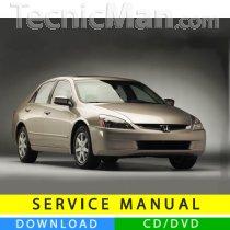 Honda Accord service manual (2003-2007) (EN)