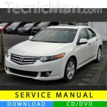 Honda Accord service manual (2008-2012) (EN)