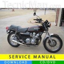 Honda CB 750 K/C/F service manual (1979-1983) (EN)
