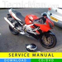 Honda CBR 600F service manual (2001-2006) (EN)