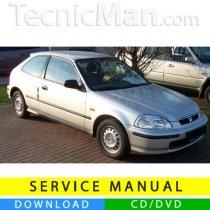Honda Civic VI service manual (1996-2000) (EN)