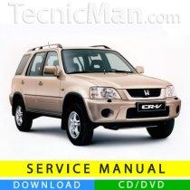 Honda CR-V service manual (1996-2001) (EN)