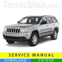Jeep Grand Cherokee service manual (2005-2010) (EN)