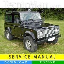 Land Rover 90-110 service manual (1984-1990) (EN)
