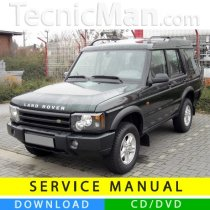 Land Rover Discovery II service manual (1998-2004) (EN)
