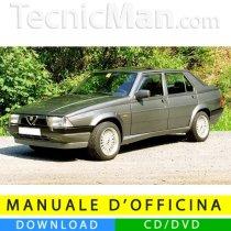Alfa 75 service manual (1985-1993) (EN)