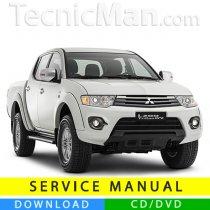 Mitsubishi Triton service manual (2005-2015) (EN)