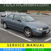 Nissan Altima service manual (1992-1997) (EN)