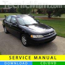 Nissan Altima service manual (1998-2001) (EN)