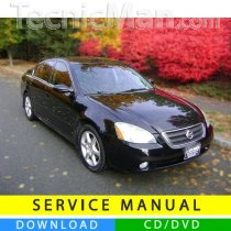 Nissan Altima service manual (2002-2006) (EN)