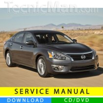 Nissan Altima service manual (2013-2015) (EN)