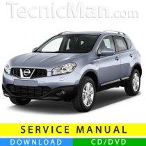 Nissan Qashqai service manual (2006-2014) (EN)