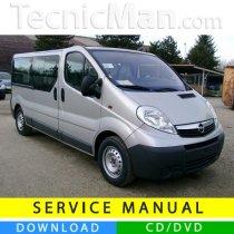 Opel Vivaro I service manual (2001-2014) (EN-FR-ES)