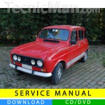 Renault 4 service manual (1961-1993) (EN-FR-ES)