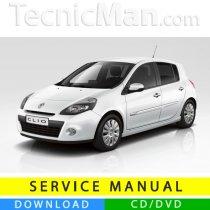 Renault Clio 3 service manual (2005-2012) (MultiLang)