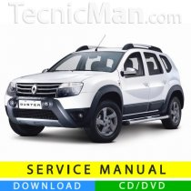 Renault Duster service manual (2010-2014) (EN)