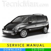 Renault Espace IV service manual (2003-2014) (EN-FR-ES)