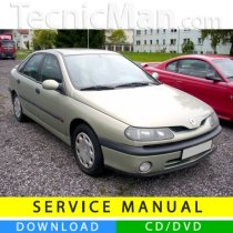 Renault Laguna I service manual (1994-2001) (EN-FR-ES)