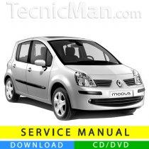 Renault Modus service manual (2004-2012) (EN-FR-ES)