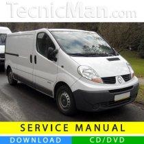 Renault Trafic II service manual (2001-2014) (EN-FR-ES)