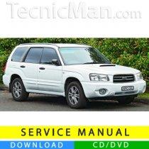Subaru Forester service manual (1999-2004) (EN)