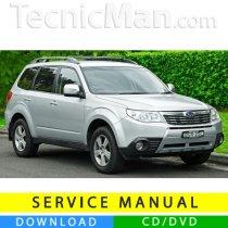 Subaru Forester service manual (2008-2010) (EN)
