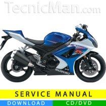 Suzuki GSX-R 1000 K7 service manual (2007-2008) (EN)