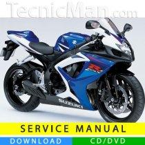 Suzuki GSX-R 750 service manual (2006-2007) (EN)