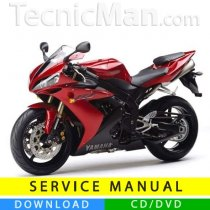 Yamaha YZF-R1 1000 service manual (2004-2005) (IT)