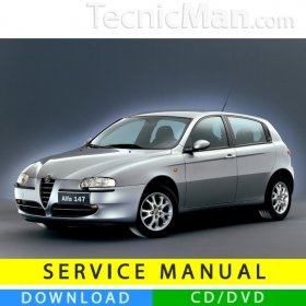 Alfa Romeo 147 service manual (2000-2010) (Multilang)