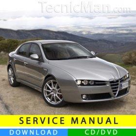 Alfa Romeo 159 service manual (2005-2013) (Multilang)
