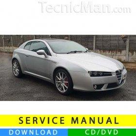 Alfa Romeo Brera service manual (2005-2010) (Multilang)