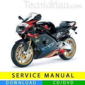 Aprilia RSV 1000 R service manual (2003-2005) (IT)