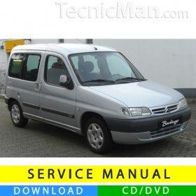 Citroen Berlingo I service manual (1996-2007) (EN)