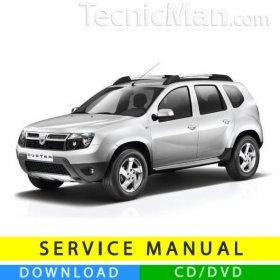 Dacia Duster service manual (2010-2014) (EN)