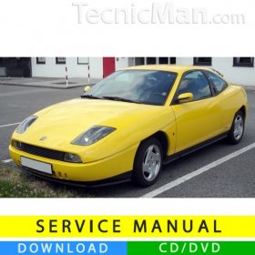 Fiat Coupé service manual (1994-2000) (EN)
