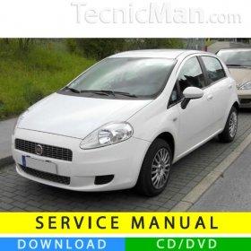 Fiat Grande Punto service manual (2005-2012) (MultiLang)
