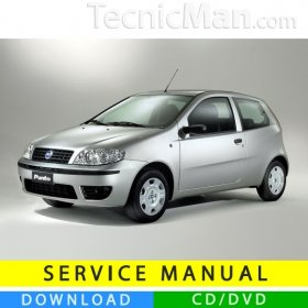 Fiat Punto service manual (1999-2010) (MultiLang)