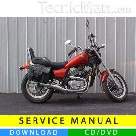 Honda VT500C service manual (1983-1986) (EN)