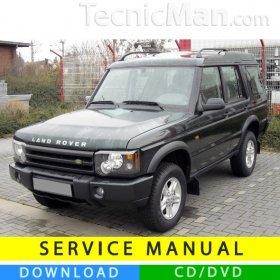 Land Rover Discovery II service manual (1998-2004) (EN)
