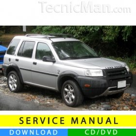 Land Rover Freelander service manual (1996-2006) (EN)