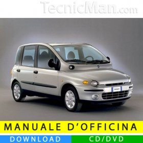 Fiat Multipla I service manual (1998-2003) (MultiLang)